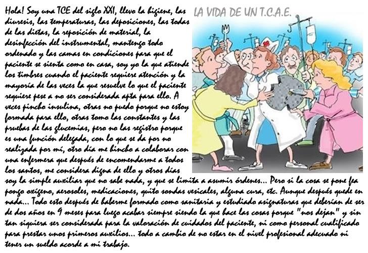 Auxiliares de Enfermería - Nivel 3 ¡YA! - T.C.A.E.