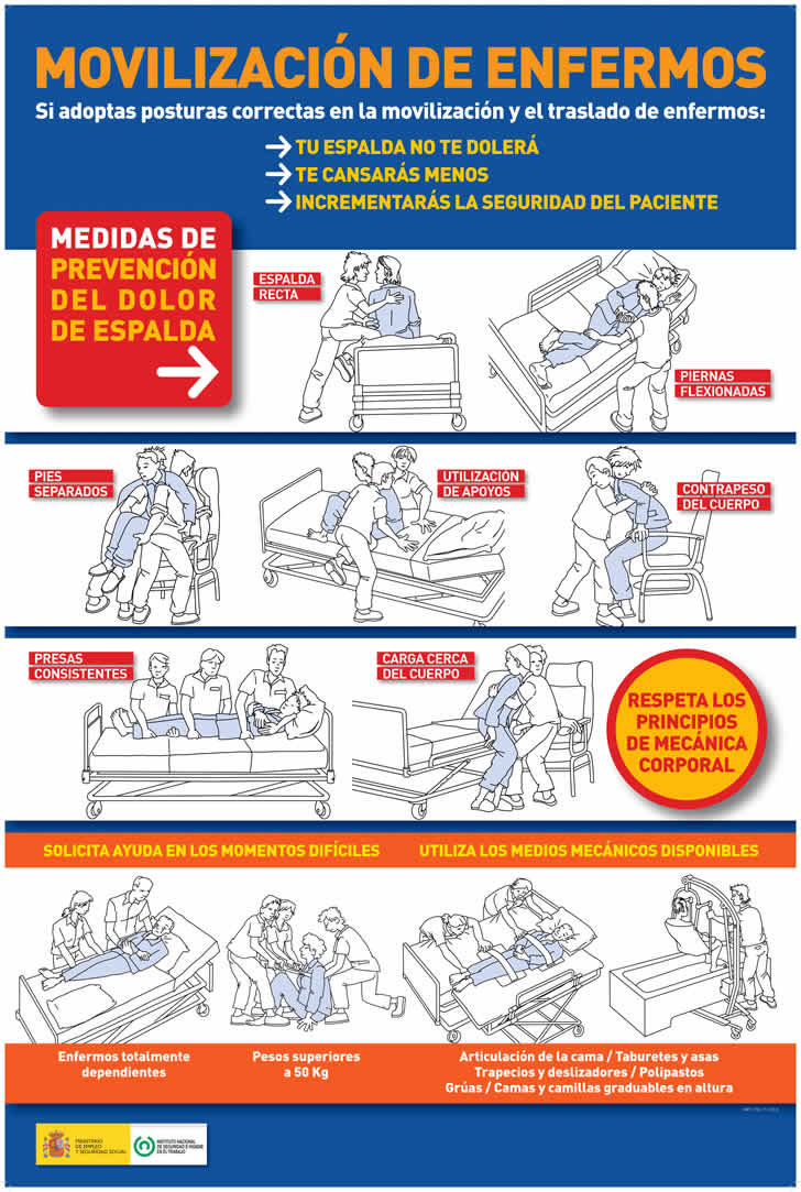 Cartel Movilización de Enfermos - I.N.S.H.T.